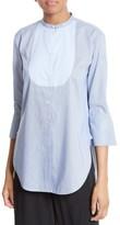 Helmut Lang Women's Ottoman Tuxedo Shirt