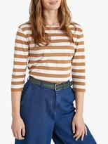 Seasalt Sailor Stripe 3/4 Length Sleeve Top