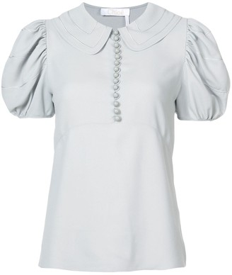 Chloé Puff Sleeved Blouse