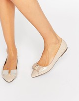 Miss KG Nessy Bow Point Flat Shoes