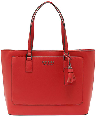 GUESS AA701425RED Thornhill Double Handle Tote Bag