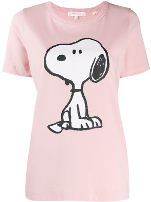Chinti and Parker Snoopy Print T-Shirt