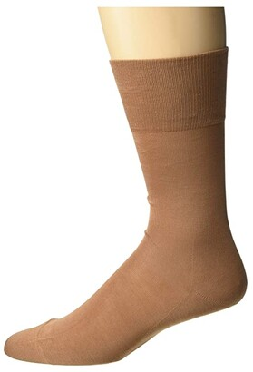 Falke Tiago Crew Socks (Light Grey) Men's Low Cut Socks Shoes