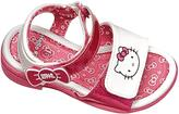 Disney Jr. Girls' Hello Kitty White Sandal