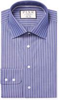 Thomas Pink Men's Slim Fit Holbert Striped Dress Shirt