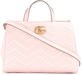 Gucci GG Marmont tote - women - Leather/Suede - One Size