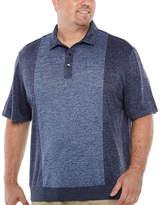 Van Heusen Short Sleeve Melange Polo Shirt Big and Tall
