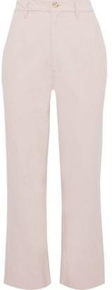 Bassike Cotton-canvas Straight-leg Pants
