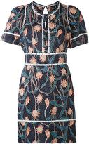Isabel Marant floral print dress - women - Cotton/Silk - 36