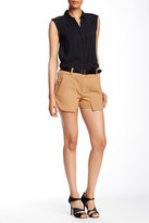 L.A.M.B. Double Crepe Short