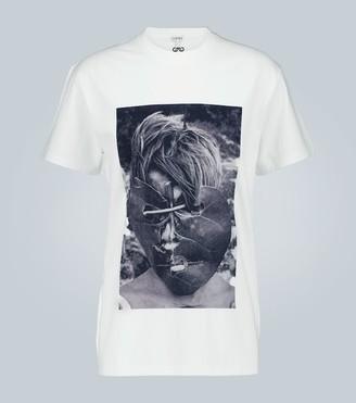 Loewe Ken Heyman print oversized T-shirt