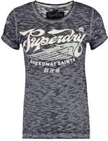 Superdry SPEED SAINTS Print Tshirt rich berry