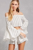 Forever 21 Selfie Leslie Striped Set
