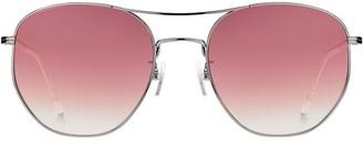 Tommy Hilfiger Tinted Aviator Sunglasses