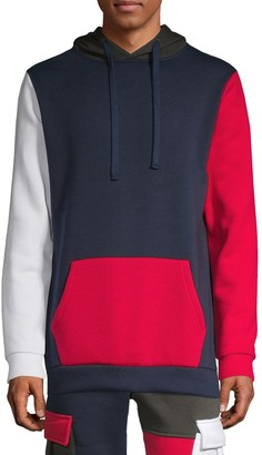 American Stitch Colorblock Cotton-Blend Hoodie