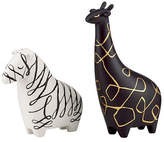 Kate Spade Woodland Park Zebra Giraffe Salt And Pepper Set