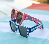 Pottery Barn Kids Baby Sunglasses - Seahorse Pink Dot