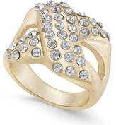 Thalia Sodi Pavé X Ring, Created for Macy's