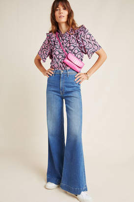 Mother The Swooner High-Rise Wide-Leg Jeans