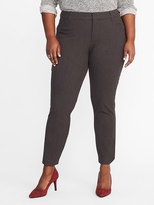 Old Navy Smooth & Slim Mid-Rise Plus-Size Pixie Pants