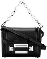 Versace DV1 embossed edge shoulder bag