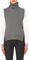 Rosetta Getty Turtleneck wool and cashmere-blend poncho