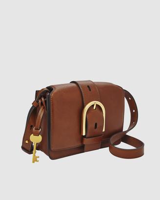 Fossil Wiley Brown Shoulder Bag