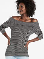 Lucky Brand Stripe Off The Shoulder