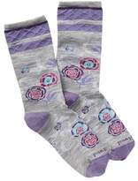 Smartwool Rosy Posy Crew Socks