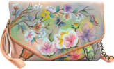 Anuschka Women's Hand Painted Convertible Envelop Clutch Wristlet