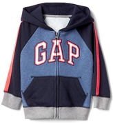 Gap Logo colorblock zip hoodie