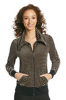 Calvin Klein Velour Stripe Jacket