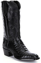 Lucchese Charles Men s Crocodile Belly Boots