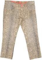 Roberto Cavalli Denim pants - Item 42585891