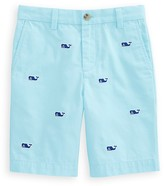 Vineyard Vines Boys' Whale Embroidered Shorts - Big Kid