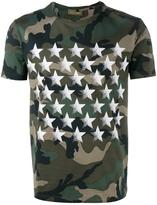 Valentino Camustars T-shirt with butterfly