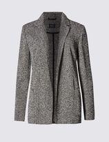 Marks and Spencer Textured Boyfriend Jacket