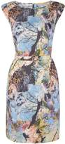 HUGO BOSS Aday Printed Dress in Open Miscellaneous