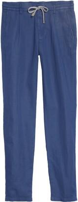 Eleventy Slim Fit Linen Blend Jogger Pants