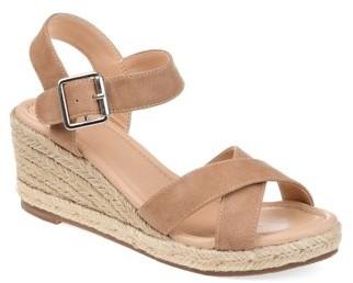 Brinley Co. Womens Comfort Espadrille Sandal Wedge