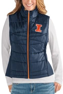 G Iii Sports G-iii Sports Women's Illinois Fighting Illini Puffer Vest