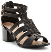 Restricted Hudson Block Heel Cage Sandal