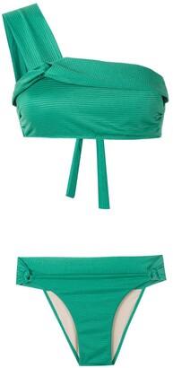 AMIR SLAMA One Shoulder Bikini Set