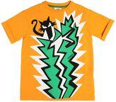 Fendi Cactus Printed Cotton Jersey T-Shirt