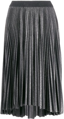 Fabiana Filippi Glitter Pleated Skirt