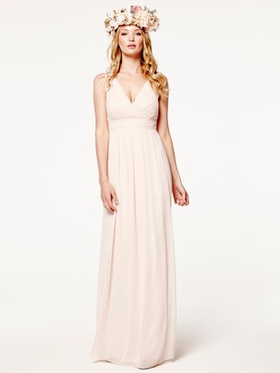Maids To Measure Lisette Floaty Dress, Just Peachy