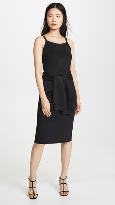 Helmut Lang Tie Waist Dress