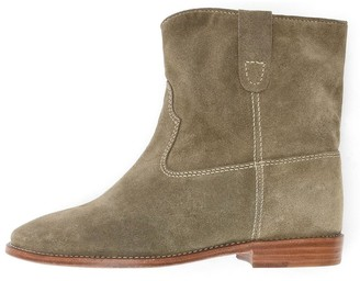 Isabel Marant Crisi Boots in Taupe