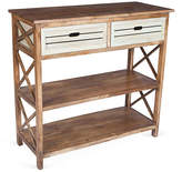 One Kings Lane Carter 2-Drawer Console - Natural