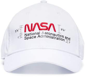 Heron Preston NASA embroidery baseball cap